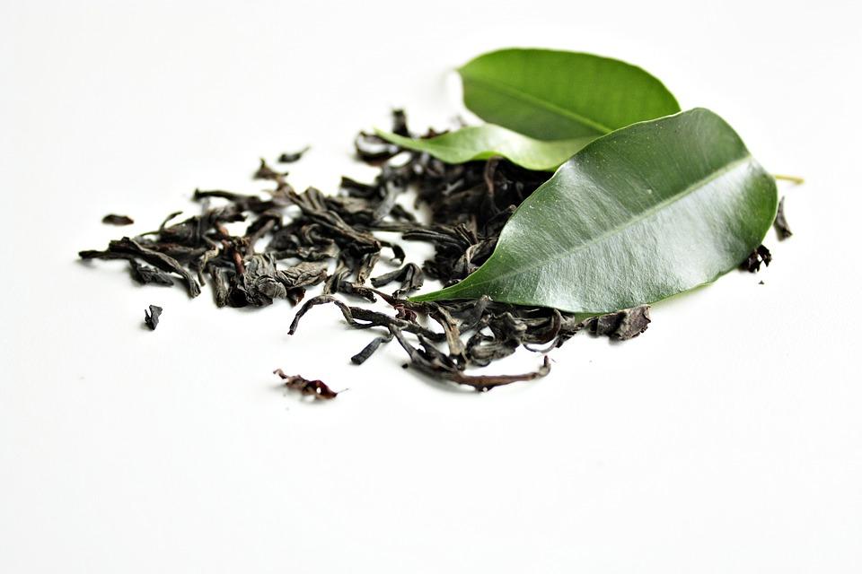 płukanka z zielonej herbaty na wypadanie włosów