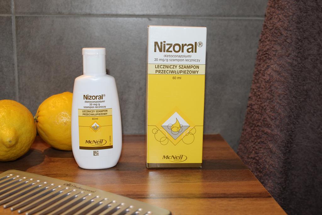 szampon na łupież nizoral