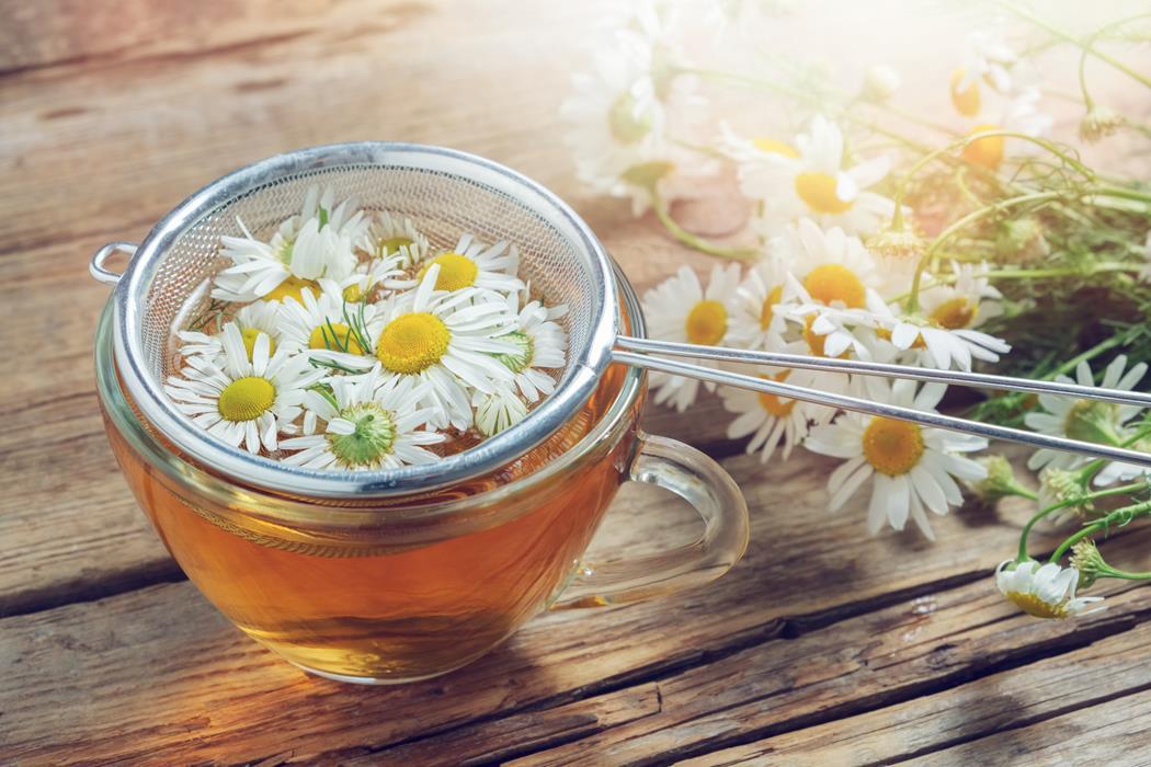 napar z kwiatów rumianku