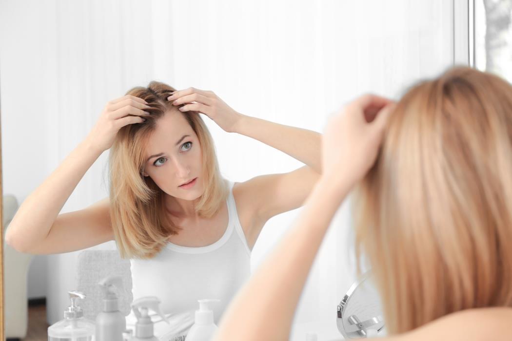 porost włosów cienkich
