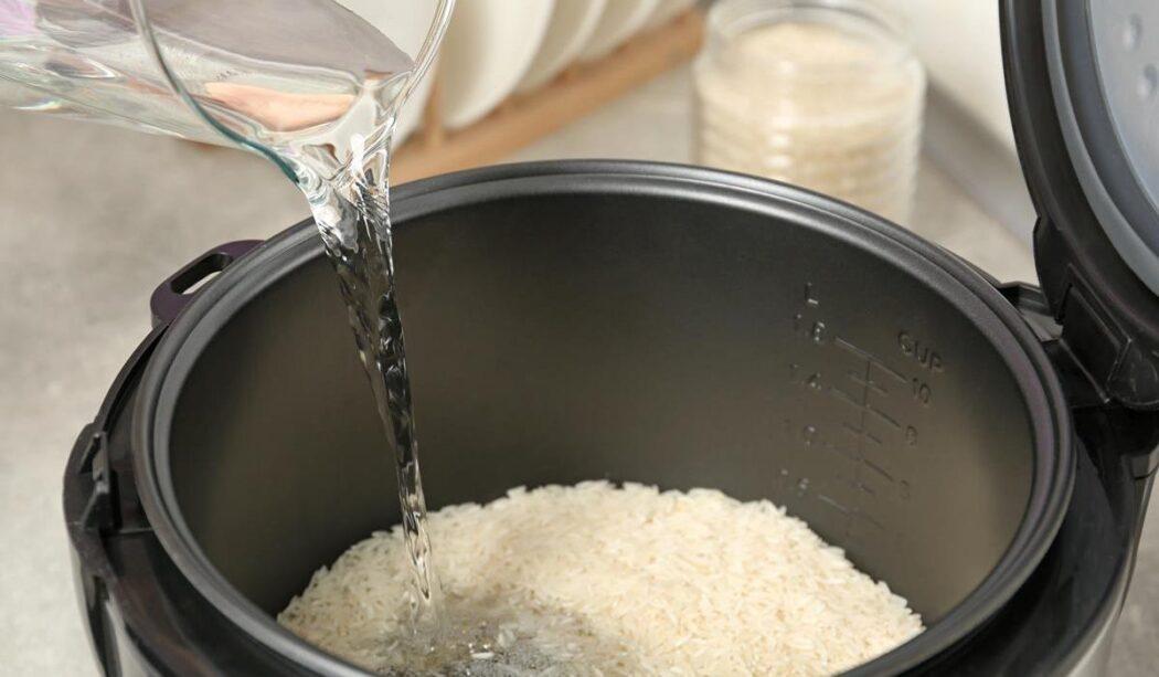 przygotowywanie wody ryżowej